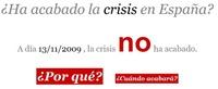 ¿Ha acabado la crisis en España?