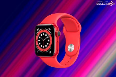 El llamativo Apple Watch Series 6 (PRODUCT)RED está por casi 60 euros menos en Amazon, alcanzado su precio mínimo