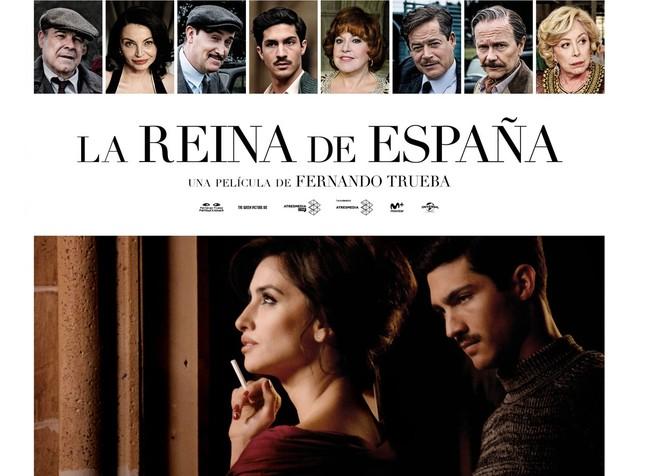 Cartel La Reina De Espana