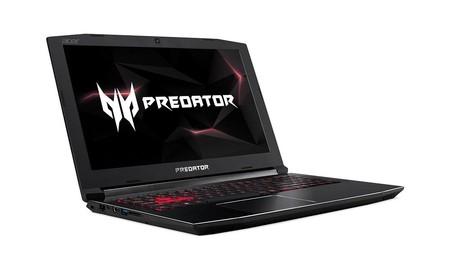 Para jugar, hoy en Amazon tienes a su precio mínimo el portátil gaming Acer Predator Helios 300 PH315-51-50Y7, por 799,99 euros
