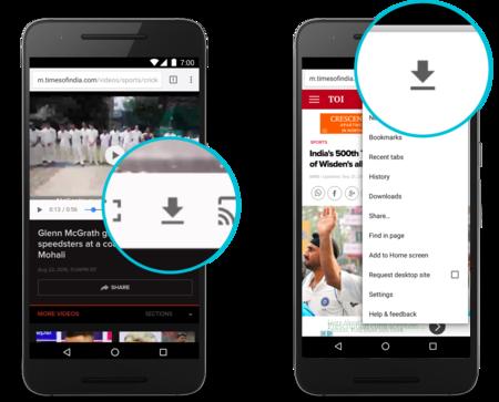 Chrome para Android añade la compresión de vídeos y descarga de páginas webs para el ahorro de datos