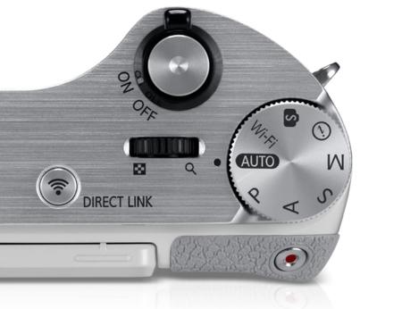 Controles en la Samsung NX300