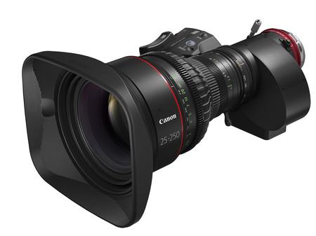 Objetivo para cine canon cn10x25 25mm a 250mm