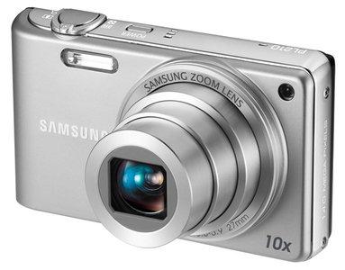 Samsung también presenta algunas compactas. Samsung WB210 y PL210