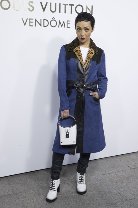louis vuitton paris celebrities vendome Ruth Negga
