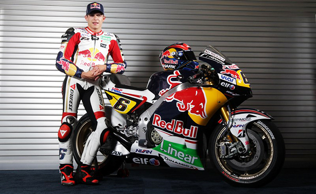 Stefan Bradl Red Bull Indianapolis