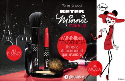 ¿Fan de Minnie Mouse? Pues atenta a la colección Beter Minnie Make Up