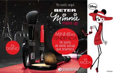 ¿Fan de Minnie Mouse? Pues atenta a la colección Beter Minnie Make Up