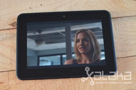 Kindle Fire HD análisis pantalla