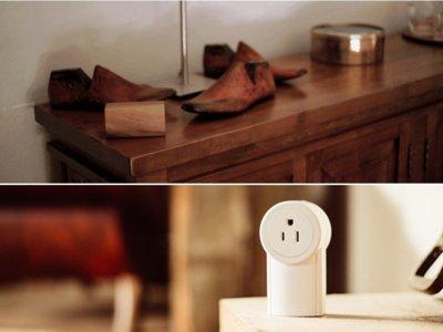 Esta caja de madera es en realidad un interruptor cinético inalámbrico para tus lámparas