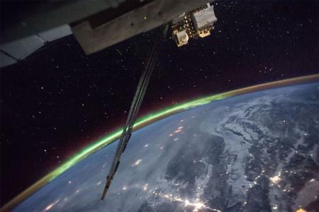 Aurora Desde Espacio