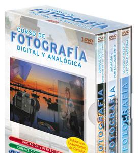 Curso de fotografía digital y analógica trípode
