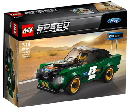 Lego 75884 1968 Ford Mustang Setback