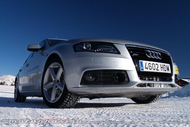 Audi winter driving experience Neumáticos de invierno