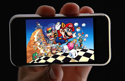 Apple podría estar licenciando ya juegos de Nintendo para su iPhone