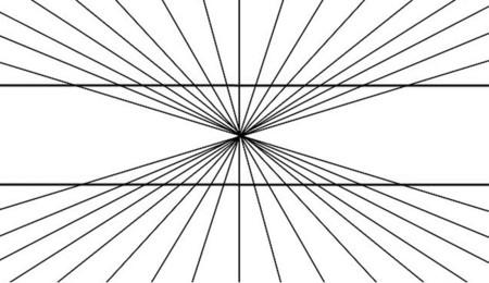 Ilusión de Hering