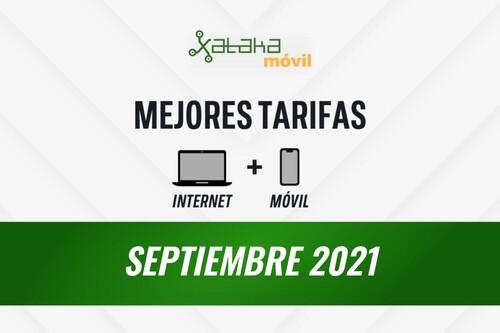 Las mejores tarifas de móvil y fibra en septiembre de 2021