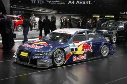 El nuevo Audi A4 DTM fue desvelado en el Salón de Ginebra