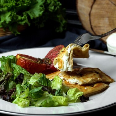 Crepas saladas de atún con Philadephia y jalapeño. Receta fácil