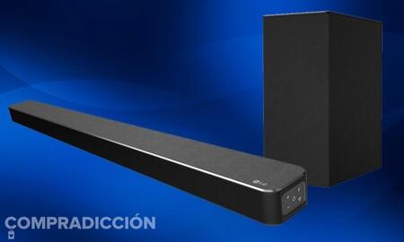 Esta Eurocopa, mejora también el audio de tu tele con una barra de sonido 3.1 como la LG SN6Y: ahora en Amazon a precio mínimo por sólo 199,99 euros