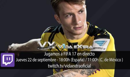 Jugamos en directo a FIFA 17 a las 18:00h (las 11:00h en Ciudad de México) (finalizado)
