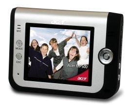 Acer MP-500, reproductor multimedia portátil
