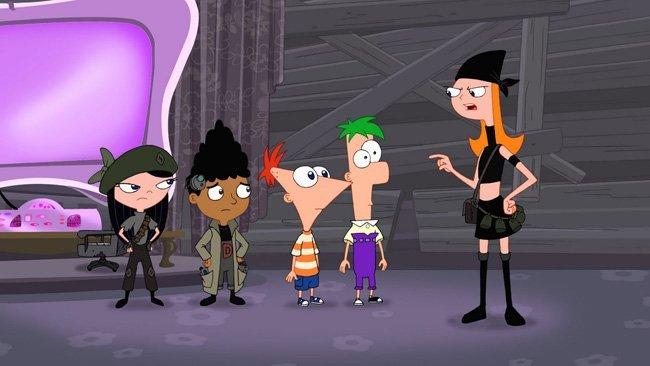 Phineas y Ferb, la película: A través de la 2ª dimensión
