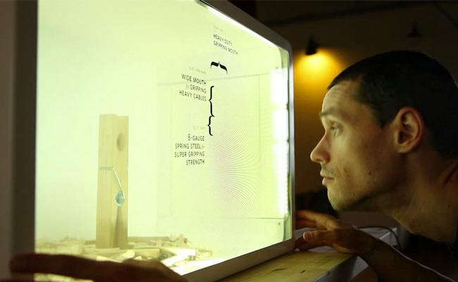 LCD Kinect