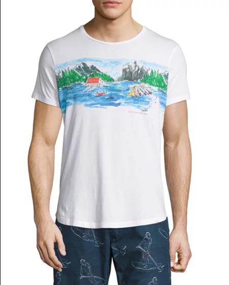 De Prada A Zara Los Paisajes De Apoderan De Tus Camisas Como Tendencia Para La Primavera