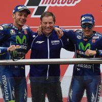 """Valentino Rossi y Maverick Viñales están de acuerdo: """"Estaría bien que Dani Pedrosa tuviese una Yamaha M1 oficial"""""""