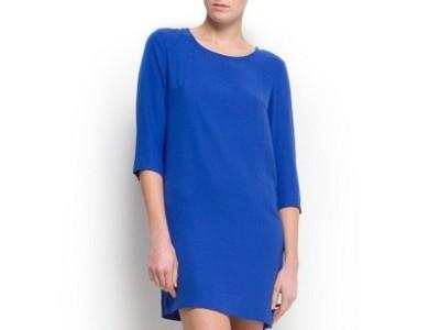 10 vestidos de Mango en azul klein, un color que favorece a todas