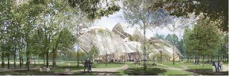 El pronóstico sobre la nube de cristal de Gehry se despeja para alegría del grupo LVMH