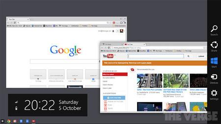 Google tiene en desarrollo una aplicación de Windows que imita por completo a su sistema Chrome OS
