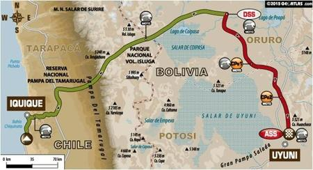 Recorrido Etapa7 Dakar2015