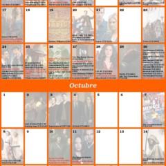 Foto 1 de 1 de la galería calendario-de-otono-2012 en ¡Vaya Tele!
