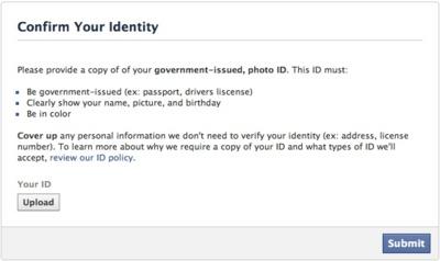 Instagram y Facebook solicitan que algunos usuarios envíen fotos de sus carnets identificativos
