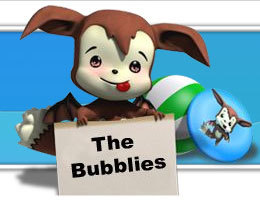 The Bubblies, mascota virtual en el mundo real