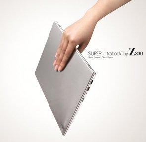 LG empieza con sus Super Ultrabook