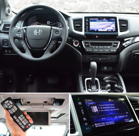 Honda Pilot 2016 Interior