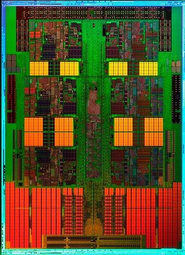 AMD Istanbul die