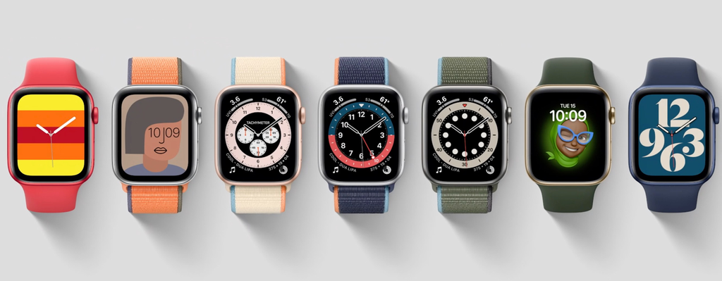 El Apple Watch Series 6 estrena nuevos watchfaces y correas