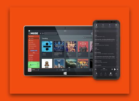 'MUSE' es un servicio de streaming gratuito con más de 35 millones de canciones