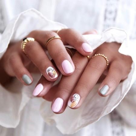 Estos garabatos sobre nuestras uñas pueden ser la manicura más especial que hayamos visto esta semana en Instagram