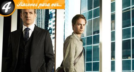 Cuatro razones para ver 'Suits'