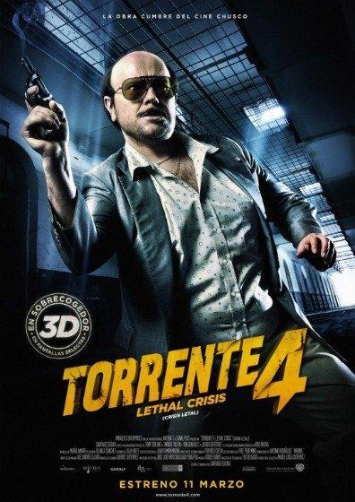 'Torrente 4: Lethal Crisis' de Santiago Segura, cartel y teaser tráiler