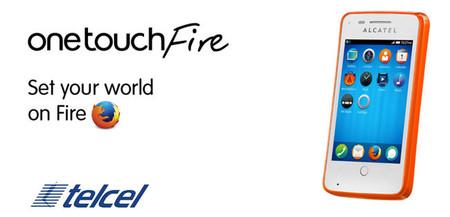 Alcatel One Touch Fire ahora trae la oferta de Firefox OS a Telcel
