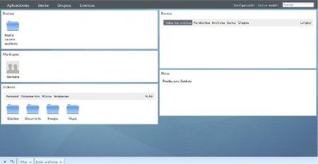 EyeOS lanza la version 2.3 con un nuevo panel de configuración