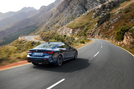 BMW Serie 4 2020 trasera lateral