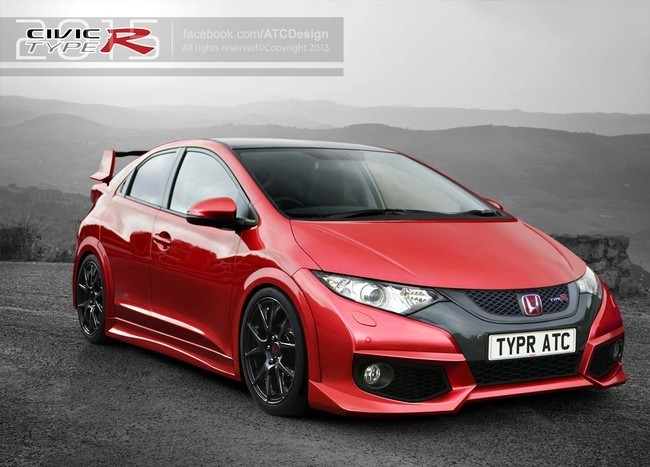 Honda Civic Type-R 2015 por ATC-Design