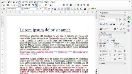 Nueva versión de LibreOffice 4.1, ahora también con la barra lateral